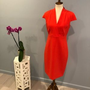 "NWT - Elie Tahari ""Gerarda"" parrot red dress"